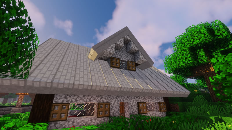 Macaw's Roofs Mod Screenshot