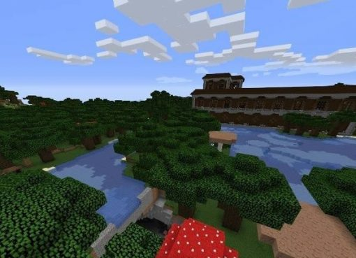 Mansion and Mineshaft Seed for Minecraft 1.15.1/1.14.4