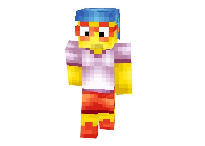 Milhouse Van Houten (The Simpsons) Skin for Minecraft