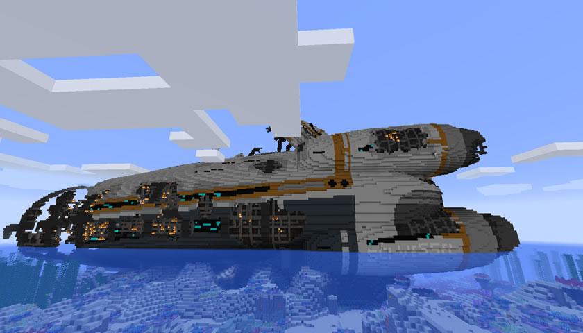 Minenautica Mod Screenshot 2