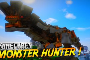 Monster Hunter Frontier Craft - New Dimension Mod for Minecraft