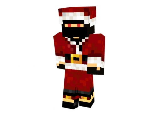 Nrp123 (Christmas Robber) Skin for Minecraft
