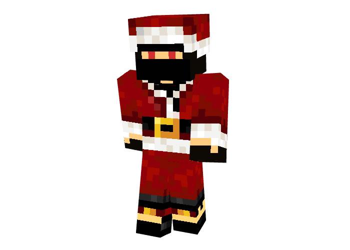 Nrp123 (Christmas Robber) Skin for Minecraft