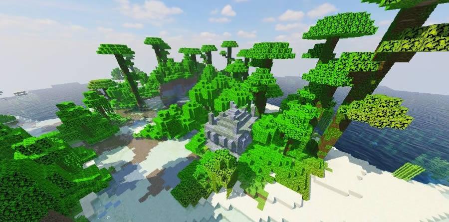 One Tree Island Seed Screenshot 2