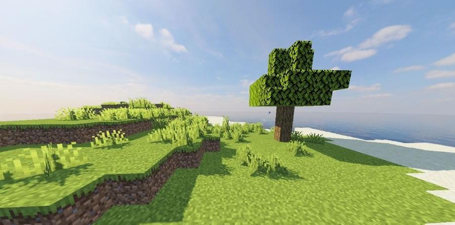 One Tree Island Seed Screenshot