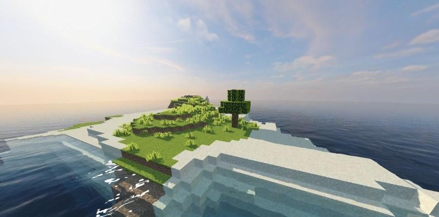 One Tree Island Seed 1.15.1/1.14.4 (Ocean Survival)