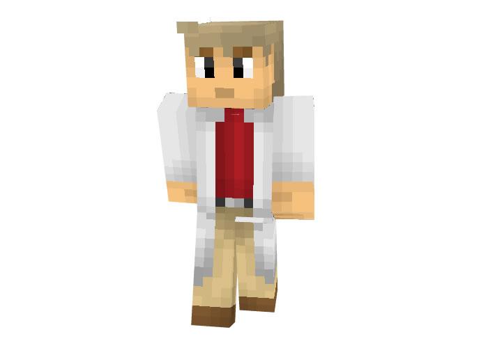 Professor Oak (Pokemon) Skin for Minecraft