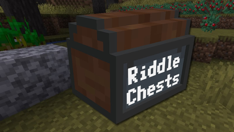 Riddle Chests Mod for Minecraft (Code Lock Chests)