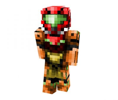 Samus Aran Skin | Minecraft Hi-Tech Skins