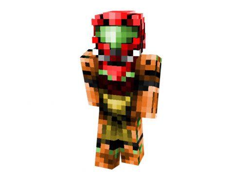 Samus Aran Skin   Minecraft Hi-Tech Skins