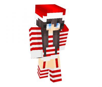 SugarCane_19 Skin | Minecraft Christmas Skins for Girls