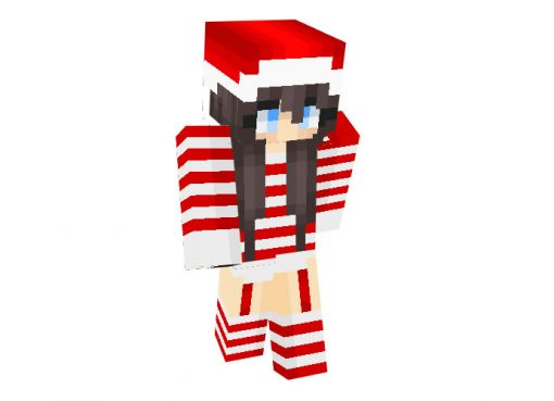 SugarCane_19 Skin   Minecraft Christmas Skins for Girls