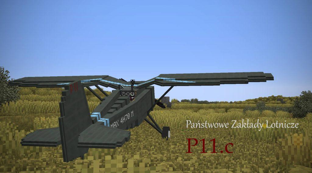 Transport Simulator Official Pack Mod PZL-P11 Screenshot