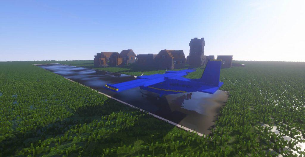 Transport Simulator Official Pack Mod Vulcanair Screenshot