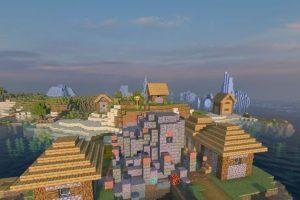 Village With Underwater Ruins Seed for Minecraft 1.15.1/1.14.4