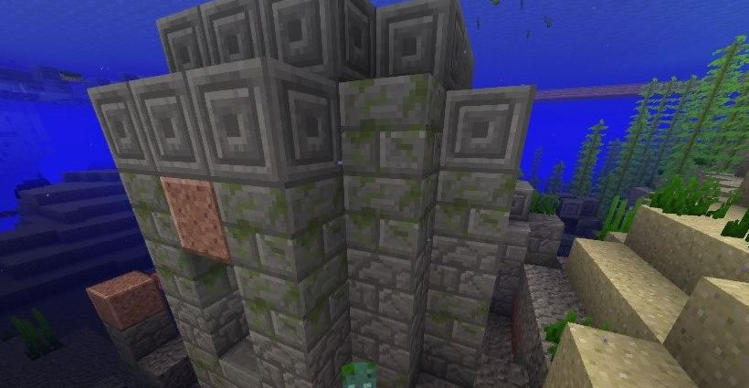 Village With Underwater Ruins Seed Screenshot