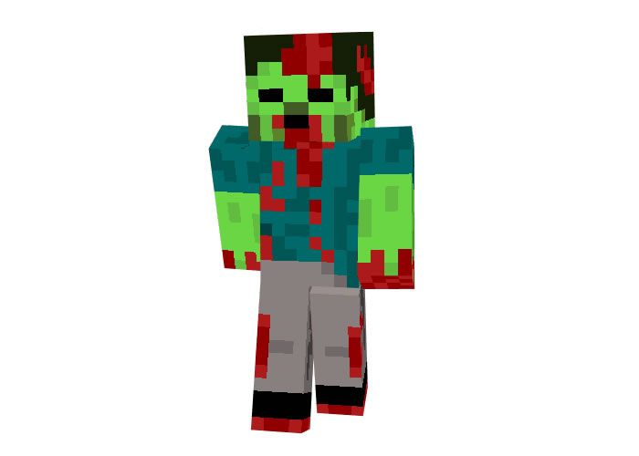 AToM (Blood Zombie) Skin for Minecraft
