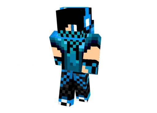 Blue Dj Boy Skin