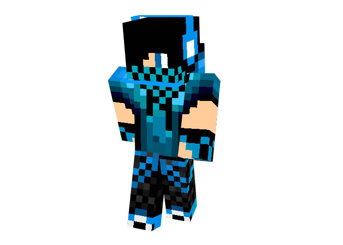 Blue Dj Boy Skin