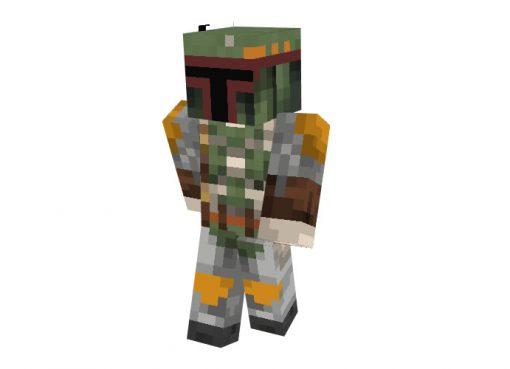Boba Fett (Star Wars) Skin for Minecraft