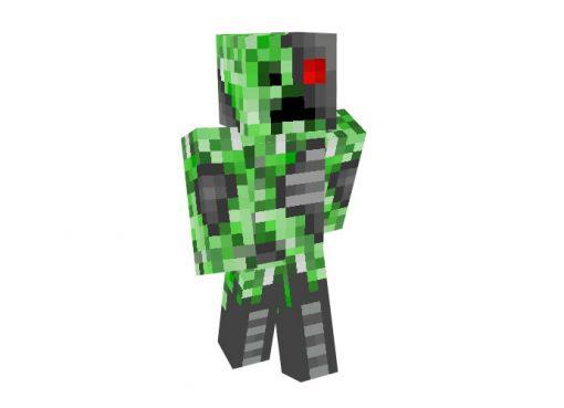 Creeper Cyborg Skin