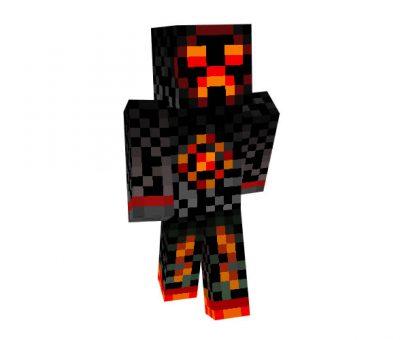 Creeper Devil Skin for Minecraft