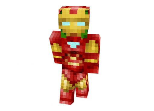 Crepeer Tark (Iron Man) Skin for Minecraft