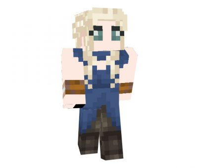 Daenerys Targaryen (Game of Thrones) Skin for Minecraft