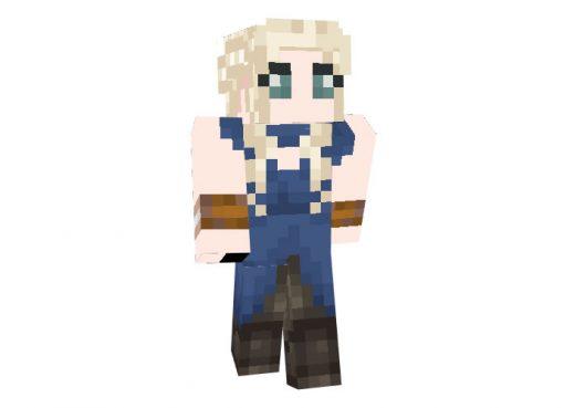 Daenerys Targaryen (Game of Thrones) Skin for Minecraft