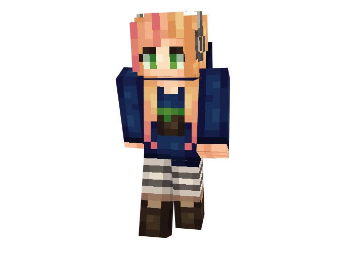 Gamer Girl Skin