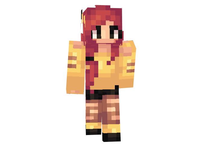 Girl Pikachu Skin