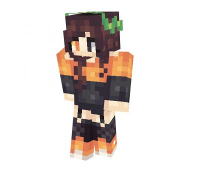 Halloween Girl Skin for Minecraft Download