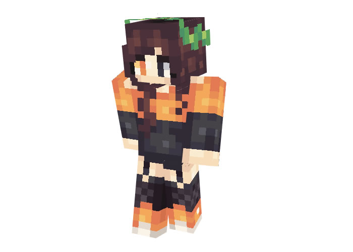 Halloween Girl Skin for Minecraft Download
