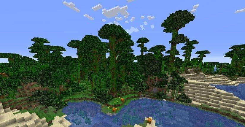 Jungle and Mushroom Islands Seed Screenshot 3