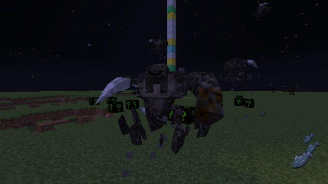 Lucky Block Dark Neon Mod Screenshot 5