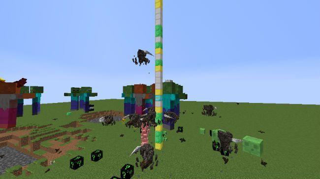 Lucky Block Dark Neon Mod Screenshot