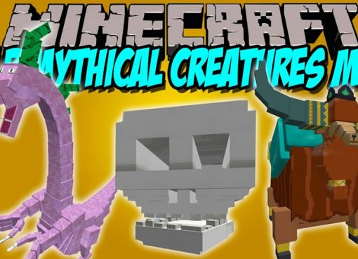 MLP Mythical Creatures Mod for Minecraft