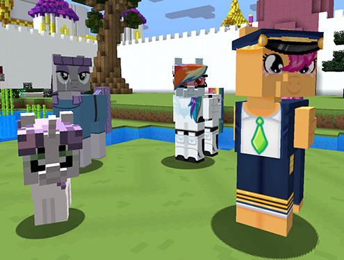Mine Little Pony Mod Screenshot 5