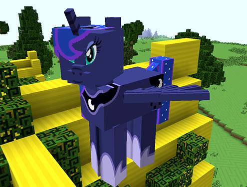 Mine Little Pony Mod Screenshot 7