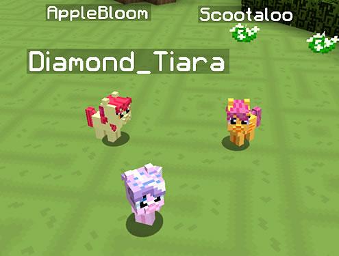 Mine Little Pony Mod Screenshot