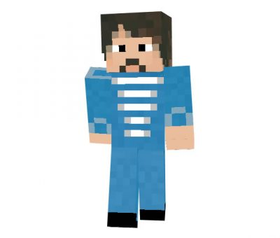 Paul McCartney Skin for Minecraft