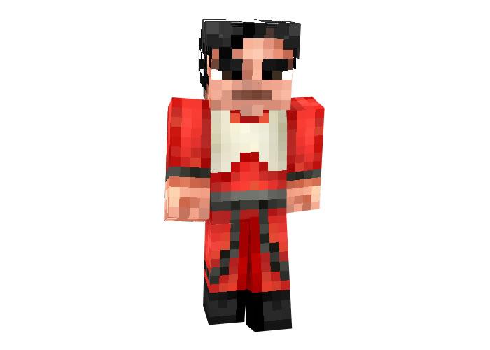 Poe Dameron from Star Wars Skin for Minecraft