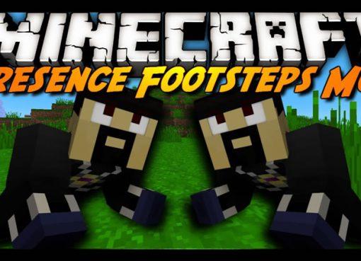 Presence Footsteps Mod for Minecraft