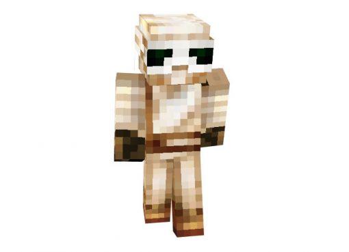 Rey Skywalker (Star Wars The Force Awakens) Skin for Minecraft