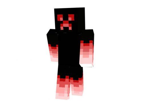 Ruby Ghost (Creeper) Skin