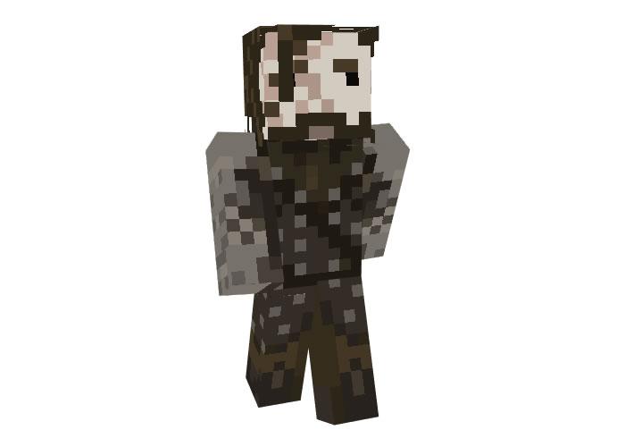 Sandor Clegane (Game Of Thrones) Skin for Minecraft