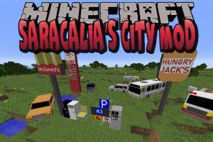 Saracalia's City Mod for Minecraft