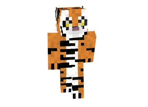 The Tiger Skin for Minecraft