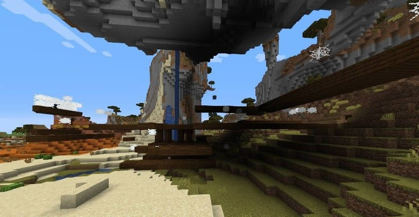Village At The Exposed Mineshaft Seed Screenshot 3