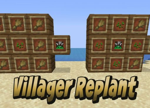 Villager Replant Mod
